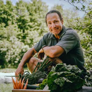 Frédéric from Les Jardins de Tessa, member of the Network since 1998